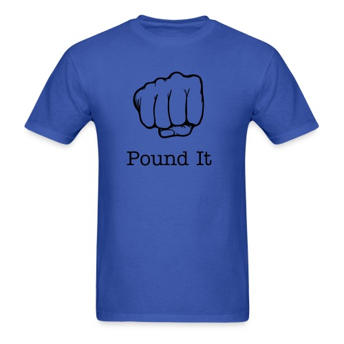 Pound It Tee - Men's T-Shirt