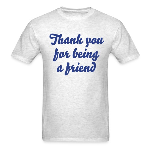 Thank you... - Men's T-Shirt