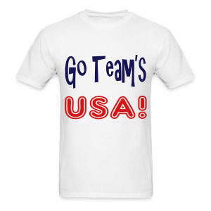 GO TEAMS USA - Men's T-Shirt