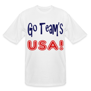 GO TEAMS USA - Men's Tall T-Shirt