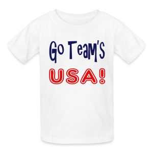 GO TEAMS USA - Kids' T-Shirt