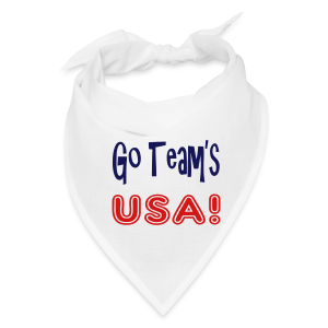 GO TEAMS USA - Bandana