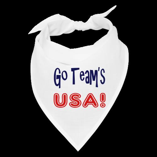GO TEAMS USA - Bandana
