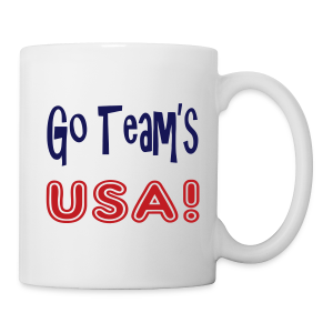GO TEAMS USA - Coffee/Tea Mug