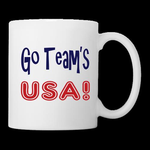 GO TEAMS USA - Coffee/Tea Mug