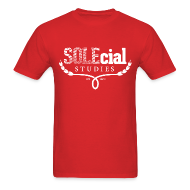 T-Shirts ~ Men's T-Shirt ~ SOLEcial Studies Tee by RDQLUS creative (Pick Your Color) *Scholarship Tee*
