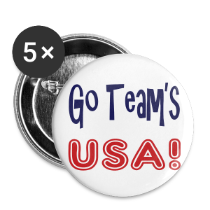Go teams USA - Small Buttons