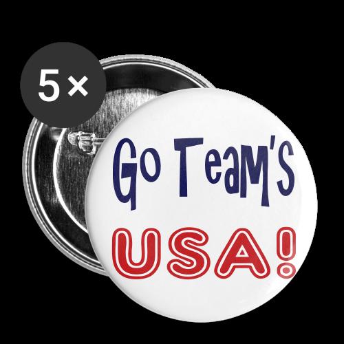 Go teams USA - Small Buttons