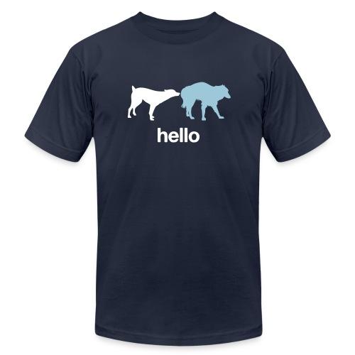 Hello Dogs Shirt - Men's  Jersey T-Shirt