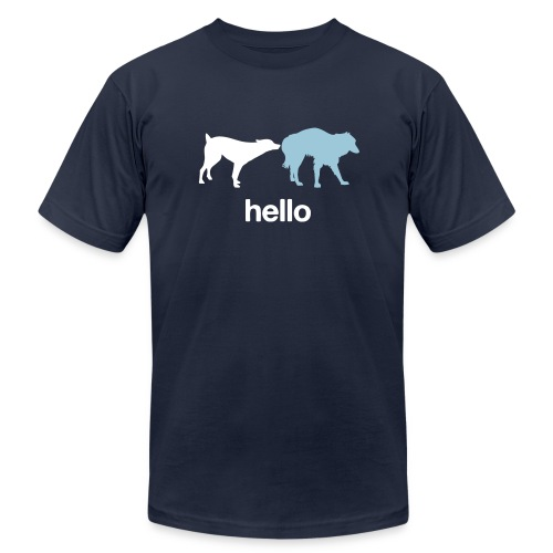 Hello Dogs Shirt - Men's  Jersey T-Shirt