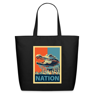 Gator Nation Tote Bag - Eco-Friendly Cotton Tote