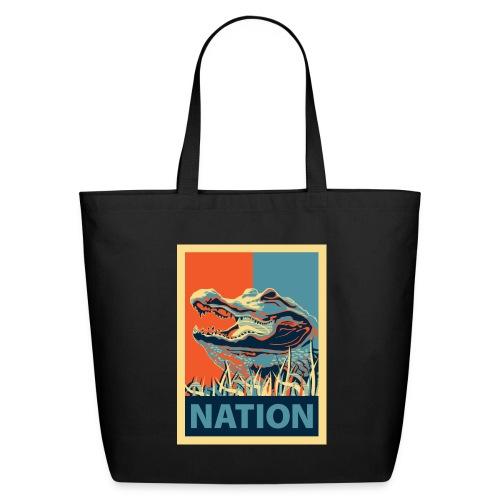 Gator Nation Tote Bag - Eco-Friendly Cotton Tote