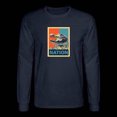 Gator Nation Long Sleeve Tee - Men's Long Sleeve T-Shirt