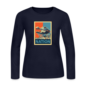 Gator Nation Long Sleeve Tee - Women's Long Sleeve Jersey T-Shirt