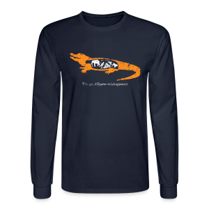 UF Gator Anatomy Long Sleeve Tee - Men's Long Sleeve T-Shirt
