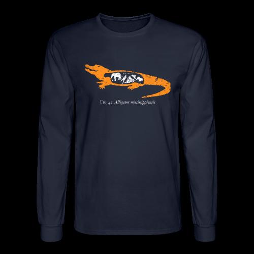 UF Gator Anatomy Long Sleeve Tee - Men's Long Sleeve T-Shirt