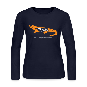 UF Gator Anatomy Long Sleeve Tee - Women's Long Sleeve Jersey T-Shirt