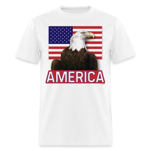 America T-Shirt | Men's | White - Men's T-Shirt
