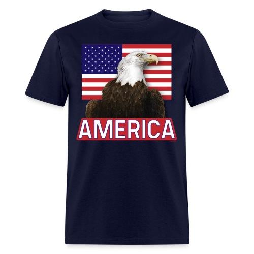 America T-Shirt | Men's | Navy - Men's T-Shirt