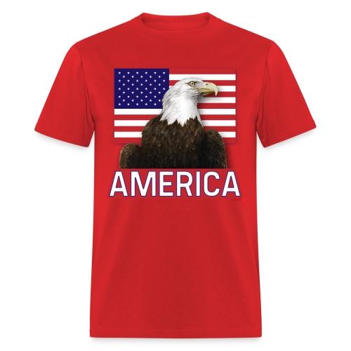 America T-Shirt | Men's | Red - Men's T-Shirt