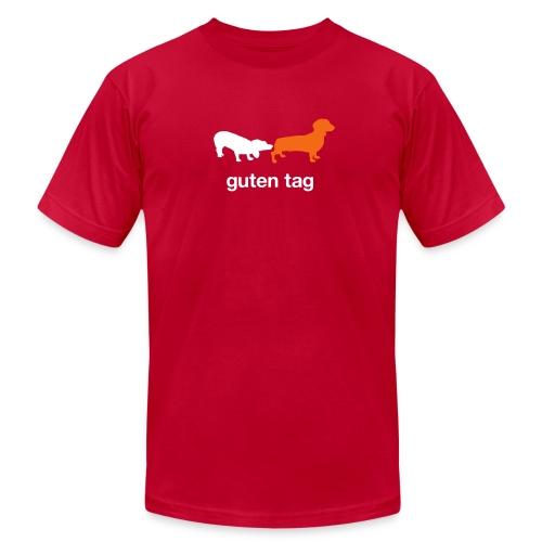 Guten Tag Dachshund Weiner Tee - Men's  Jersey T-Shirt