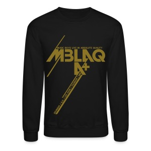 [MBLAQ] Diagonals (Metallic Gold) - Crewneck Sweatshirt