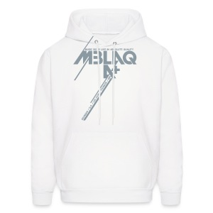 [MBLAQ] Diagonals (Metallic Silver) - Men's Hoodie
