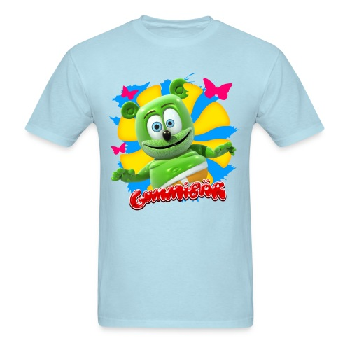 Gummibär (The Gummy Bear) Butterflies Men's Standard T-Shirt - Men's T-Shirt