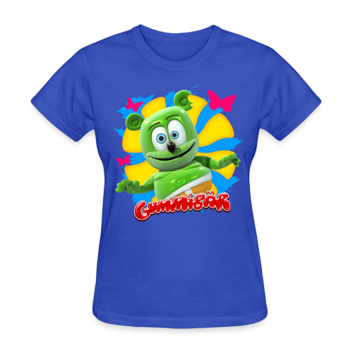 Gummibär (The Gummy Bear) Butterflies Ladies T-Shirt - Women's T-Shirt