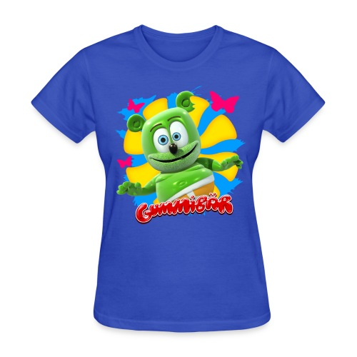Gummibär (The Gummy Bear) Butterflies Ladies T-Shirt - Women's T-Shirt