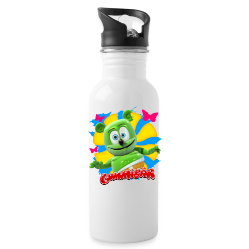 Gummibär (The Gummy Bear) Butterflies Water Bottle - Water Bottle