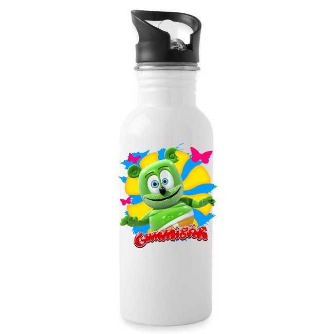 Gummibär (The Gummy Bear) Butterflies Water Bottle