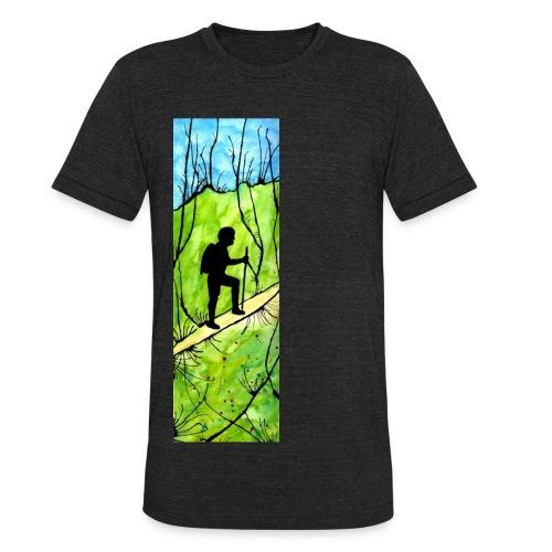 Hiking Vintage tri-blend T-shirt - Unisex Tri-Blend T-Shirt