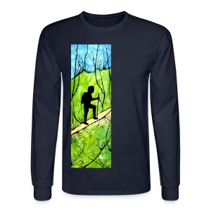 Hiking Longsleeve T-shirt - Men's Long Sleeve T-Shirt
