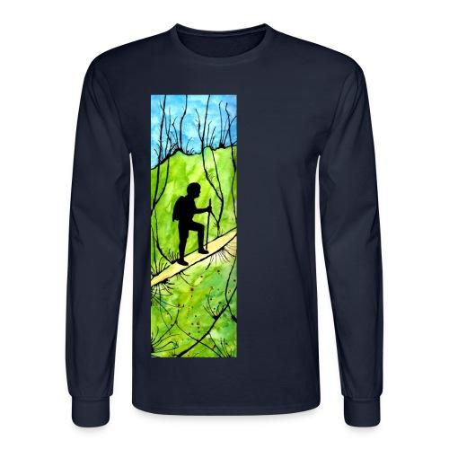Hiking Longsleeve T-shirt - Men's Long Sleeve T-Shirt