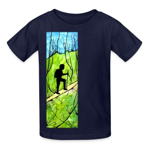 Hiking Kids' T-shirt - Kids' T-Shirt