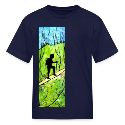 Hiking Kids' T-shirt - Kids' T-Shirt