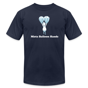 Mista Balloon Hands - Men's T-Shirt by American Apparel