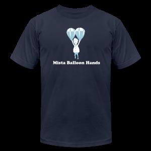 Mista Balloon Hands - Men's Fine Jersey T-Shirt