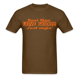 Real Men - Men's T-Shirt