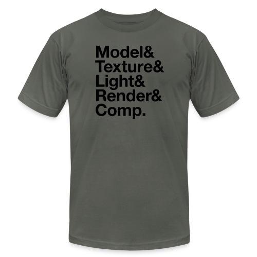 Model&Texture&Light&Render&Comp. - Men's  Jersey T-Shirt