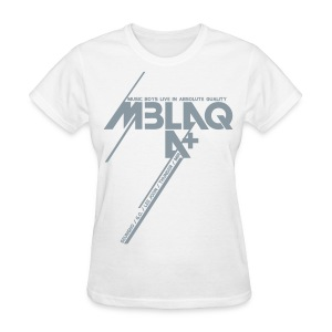 [MBLAQ] Diagonals (metallic silver) - Women's T-Shirt
