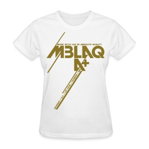 [MBLAQ] Diagonals (metallic gold) - Women's T-Shirt