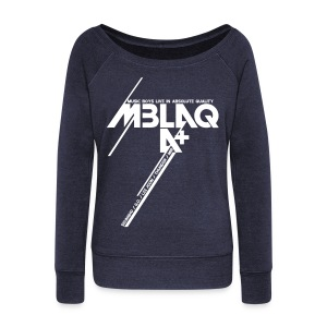 [MBLAQ] Diagonals - Women's Wideneck Sweatshirt