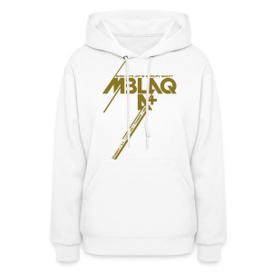 [MBLAQ] Diagonals (Metallic Gold) - Women's Hoodie