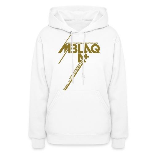 [MBLAQ] Diagonals (Metallic Gold) - Women's Hoodie