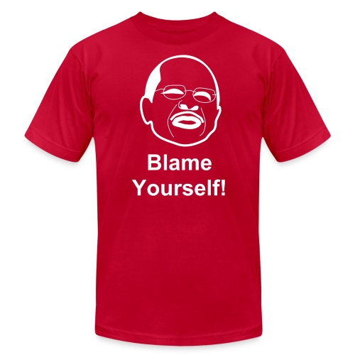 Blame Yourself - Men's  Jersey T-Shirt
