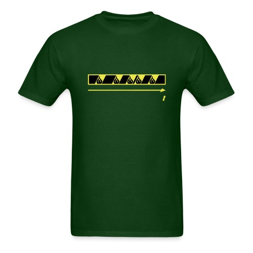 Trespassing Beat - Men's T-Shirt