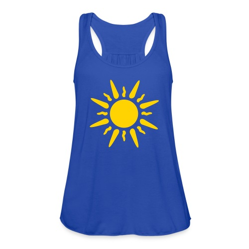 Sun Tee - Women's Flowy Tank Top by Bella