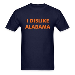I DISLIKE ALABAMA - Blue - Men's T-Shirt